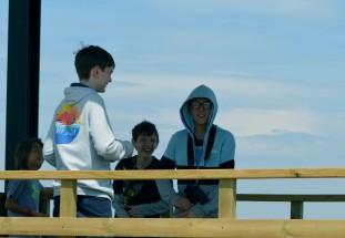 boys on the mirador